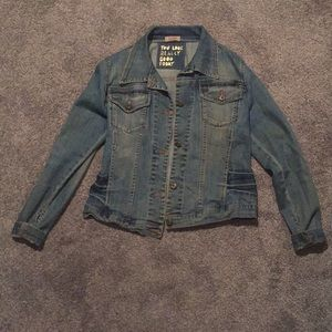 Vintage jean jacket by Dick & Jayne Los Angeles